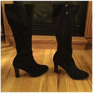 ❤️ Isaac Mizrahi to the knee heeled boots ❤️